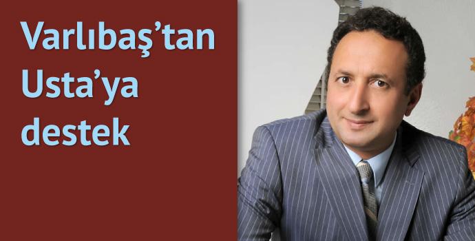 Varlıbaş'tan Muharrem Usta'ya destek
