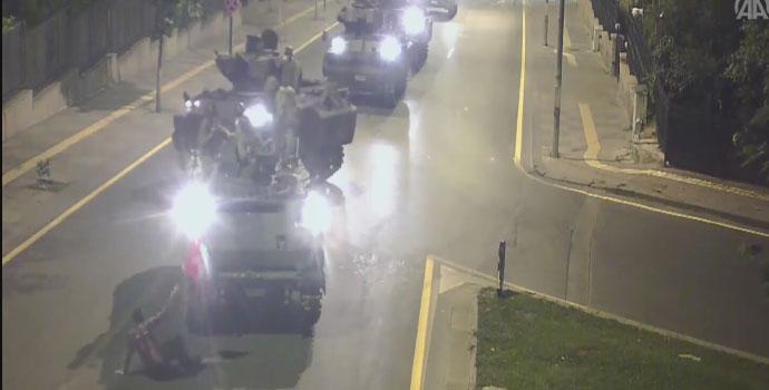 5 zırhlı aracı durduran adam Trabzonlu çıktı