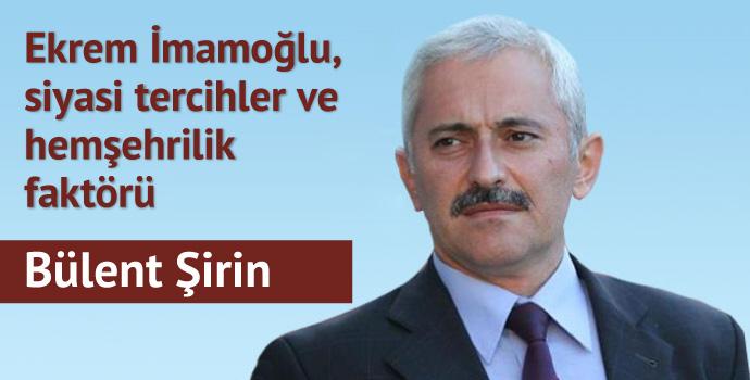 Ekrem İmamoğlu, siyasi tercihler ve hemşehrilik faktörü