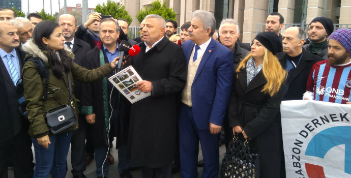 TDF suç duyurusunda bulundu