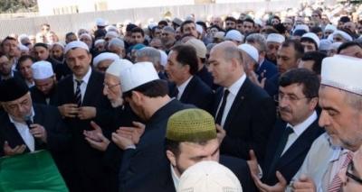 Ahmet Yaşar hoca Trabzon'da ebediyete uğurlandı