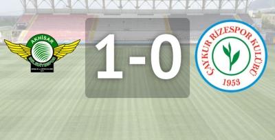 Akhisar Belediyespor 1-0 ÇAYKUR Rizespor