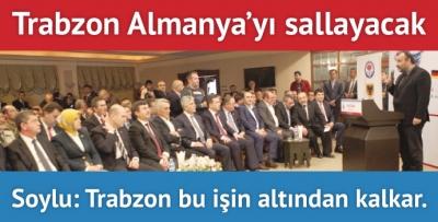 Almanya Trabzon'u bekliyor