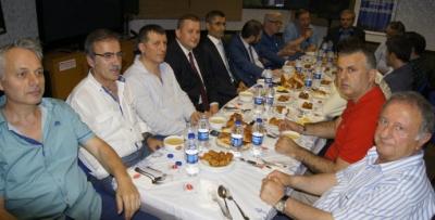 Bahçelievler'de Trabzonlular için iftar vakti