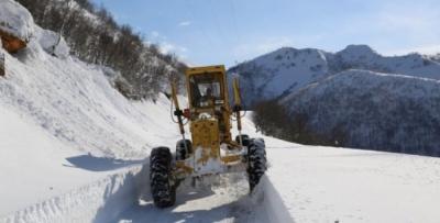Bölgede 529 Köy Yolu Kapalı