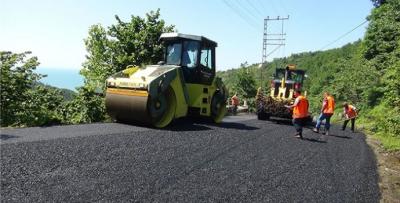 Çarşıbaşı Zeytinlik'te asfalt sevinci
