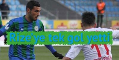 ÇAYKUR Rizespor 1 - 0 Karabükspor