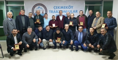 Çekmeköy Trabzonlular Derneği basın mensuplarını unutmadı