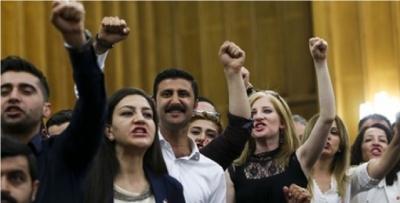 CHP Grubundaki sloganlar için başsavcılık harekete geçti