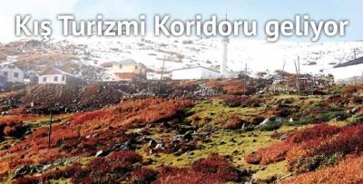 Doğu Karadeniz'de kış turizmi hamlesi