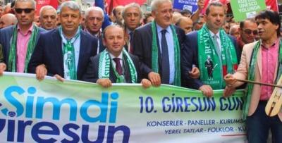 Giresun Günleri Taksim Yürüyüşü