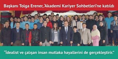 Görele Belediye Başkanı Erener öğrencilerle buluştu
