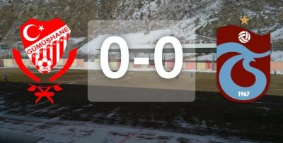 Gümüşhanespor-Trabzonspor / Maç başladı