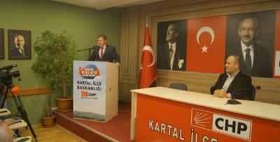 Harun Özdemir Kartal'dan aday adayı oldu