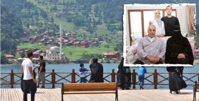 Karadeniz'de Arap turist bereketi