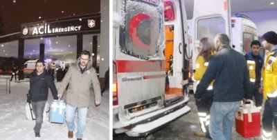 Kars'tan Trabzon'a umut oldu
