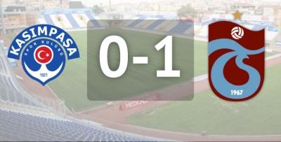 Kasımpaşa 0 - 1 Trabzonspor