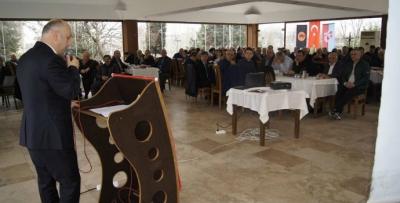 Maçka Federasyonu delegeleriyle buluştu