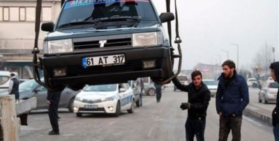 Şahin'e BMW motoru takıp 240 yapınca yakalandı