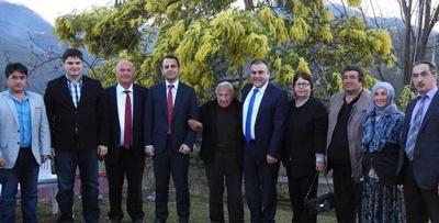 Göreleli Şair Ahmet Kaçar'a anlamlı ziyaret