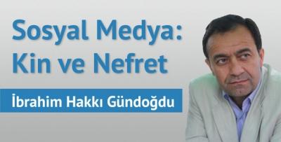 Sosyal Medya: Kin ve Nefret