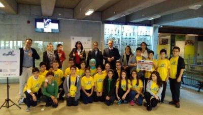 Sultantepe Ortaokulu'ndan uluslararası proje