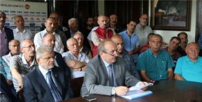 Trabzon Ziraat Odaları Birliği darbeye hayır dedi