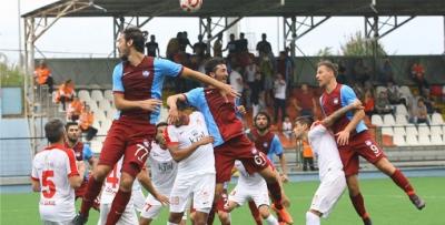 Trabzon'da beraberlik bozulmadı