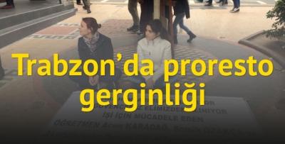 Trabzon'da OHAL protestosu!