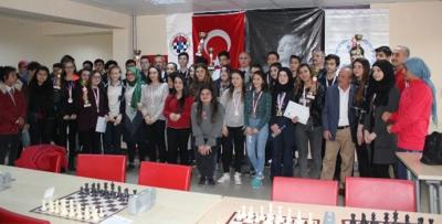 Trabzon'da satranç turnuvası sona erdi