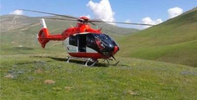 Trabzon'daki helikopter ambulanslar ne yapıyor?
