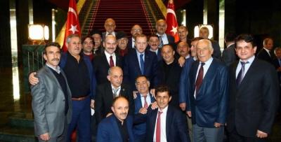 Trabzon'dan 20 muhtar külliyeye çıktı