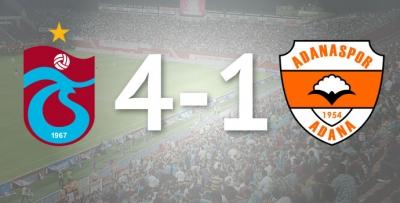 Trabzonspor 4-1 Adanaspor