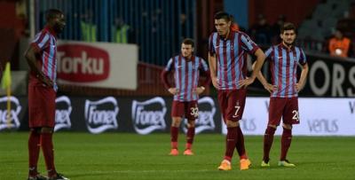 Trabzonspor deplasmanlarda kayıp