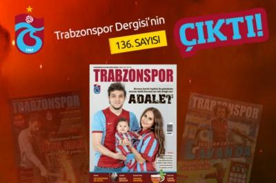 Trabzonspor Dergisi'nin 136. Sayısı çıktı