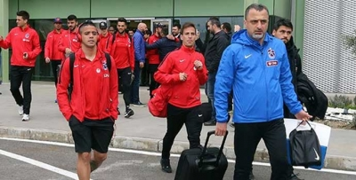 Trabzonspor kafilesi İzmir'e indi