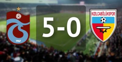 Trabzonspor-Kızılcabölükspor / 5-0