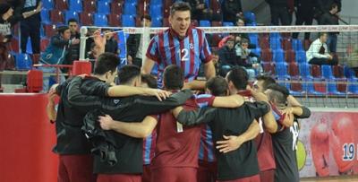 Trabzonspor voleybol takımı galip