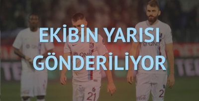 Trabzonspor'da başarısızlığın faturası kesildi