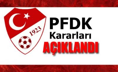Trabzonspor'da cezalar belli oldu!