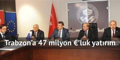 Trabzon'un içme suyu sorunu kalmayacak