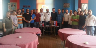 Tuzla Trabzonsporlular Derneği'nde nöbet değişimi