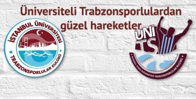 Üniversiteli Trabzonsporlulardan güzel hareketler
