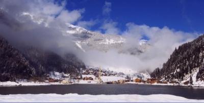 Uzungöl'de artık kış da güzel geçiyor