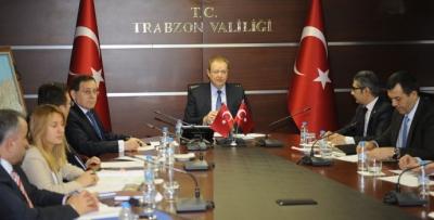 Vakfıkebir OSB Mütevelli Heyeti Vali Yavuz başkanlığında toplandı