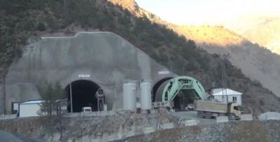 Zigana Tüneli 3 bin metreye ulaştı