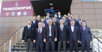 Zorluoğlu'ndan Trabzonspor'a ziyaret
